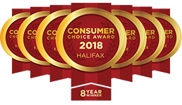 Consumer Choice Award 2017 - Halifax - 8 Year Winner